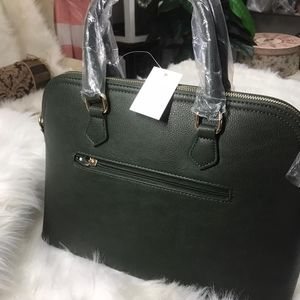 🆕️Dark Olive 2in1 Fashion Satchel Bag With Tassel